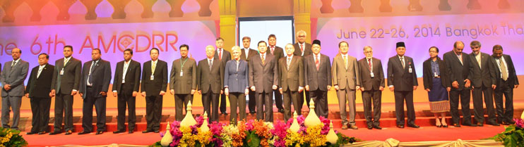 Opening Ceremony  of The 6th Asian Ministerial Conference on Disaster Risk Reduction