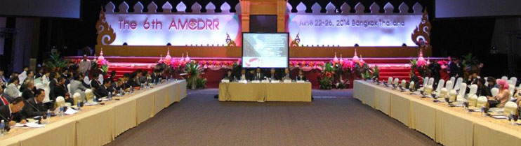 India's participation in the 6th Asian Ministerial Conference on Disaster Risk Reduction at Bangkok