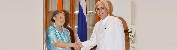 External Affairs Minister meets Princess Maha Chakri Sirindhorn of Thailand in New Delhi
