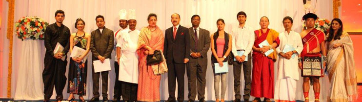 A reception hosted by Ambassador Harsh Vardhan Shringla to celebrate Festival of India on 24th March 2014.