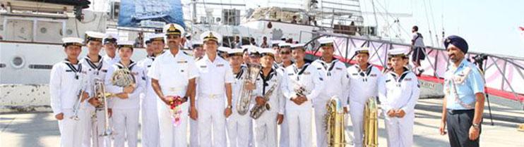 Bangkok Port Call by INS Sudarshini on 18 January 2013