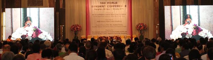 EAM Sushma Swaraj addresses Inaugural Function of 16th World Sanskrit Conference in Bangkok on 28 June, 2015