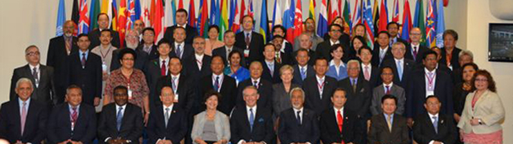 69th UNESCAP  Commission Session in the United Nations Convention Centre at Bangkok from 25th April to 01st May.
