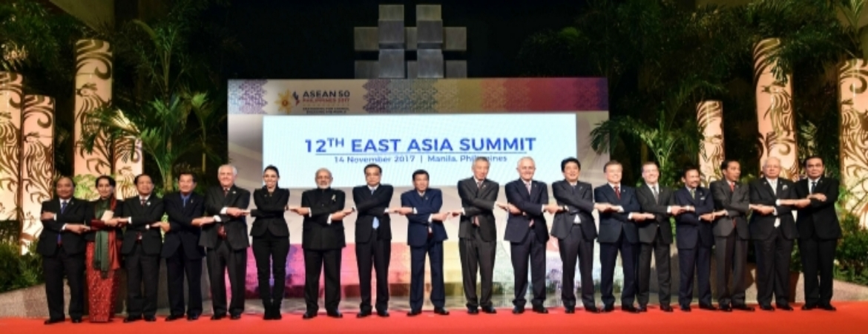PM Narendra Modi at 12th East Asia Summit, Manila on November 14, 2017 – Group Photo