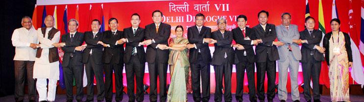 Delhi Dialogue VII on 11 March, 2015 in New Delhi