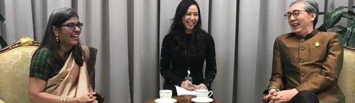 Ambassador Suchitra Durai meeting Deputy Prime Minister of Thailand Dr Somkid Jatusripitak on 12 February 2019